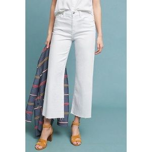 NWT 🆕 7 for all mankind cropped white jeans